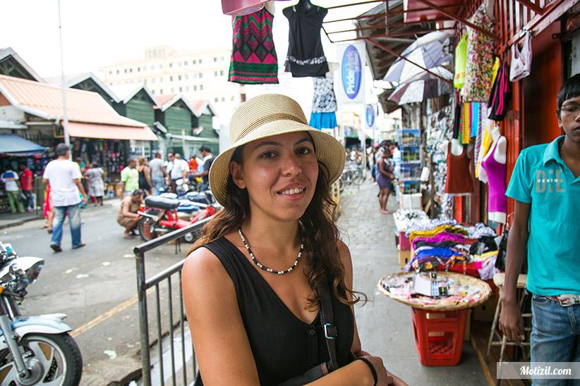 Souvenirs Marché de Port Louis