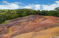 Chamarel, terres des 7 couleurs et sa cascade