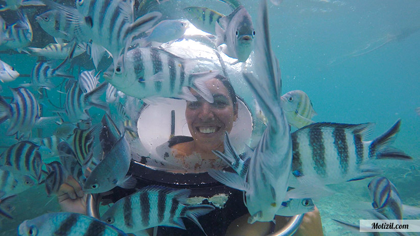 Marche sous l'eau Aquaventure