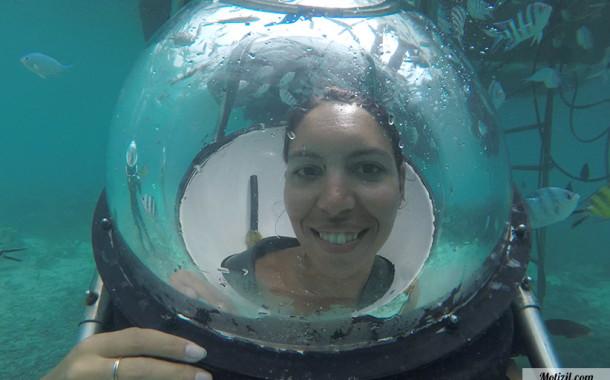 Marche sous l'eau (plongée)