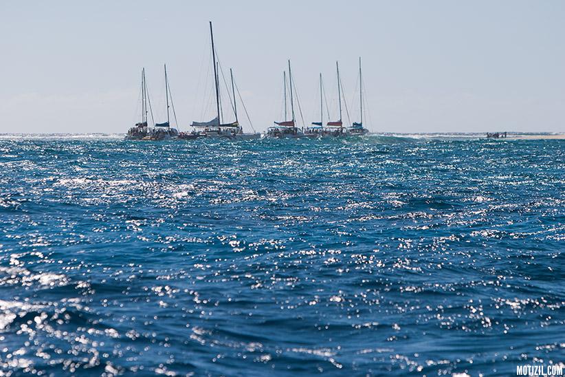 Ilot Gabriel catamaran