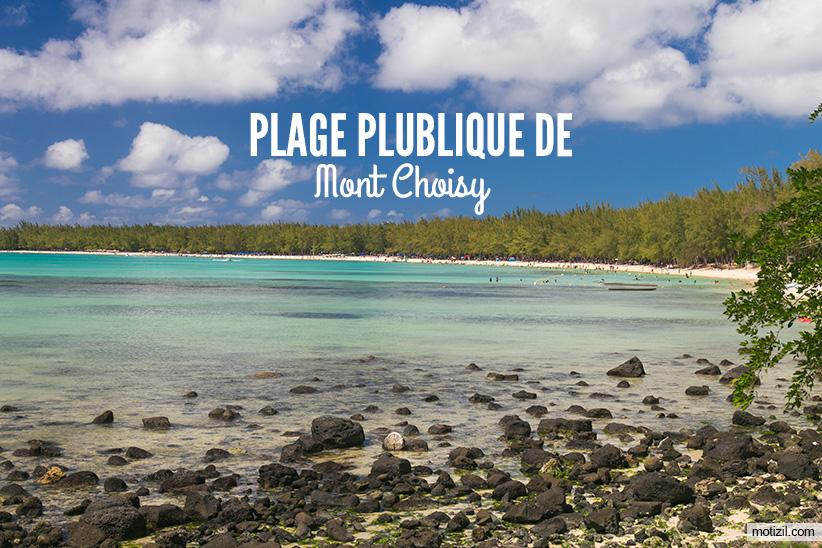 Plage de Mont Choisy
