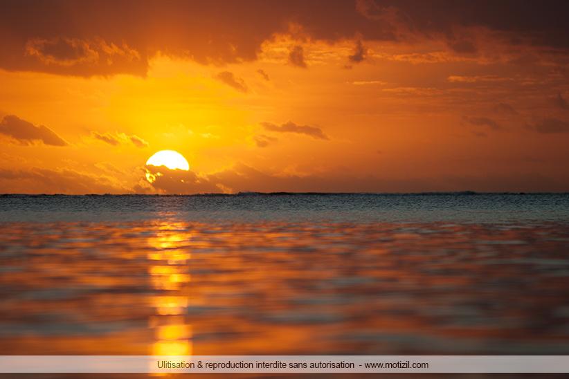 Coucher de soleil Trou aux Biches